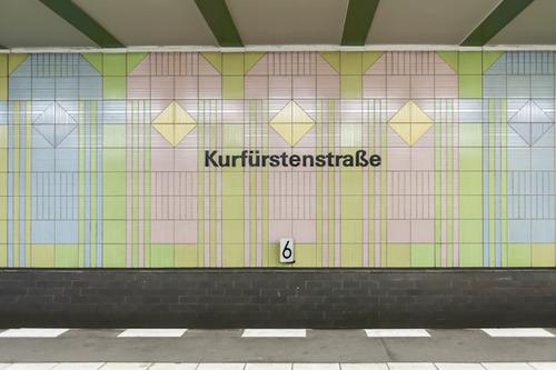Endbahnhof photo blog of Berlin U-Bahn by Kate Seabrook