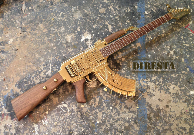 AK-47 Guitar