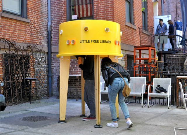 Little Free Library by Stereotank