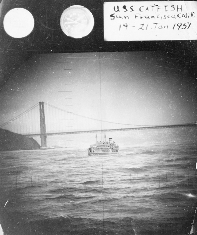Photos of San Francisco taken by US Navy sub 1951