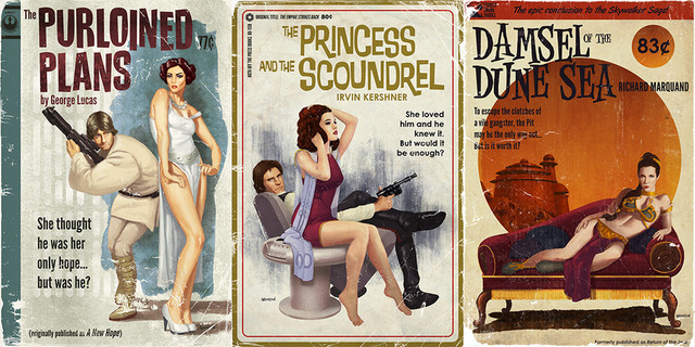 Star Wars Pulp Covers