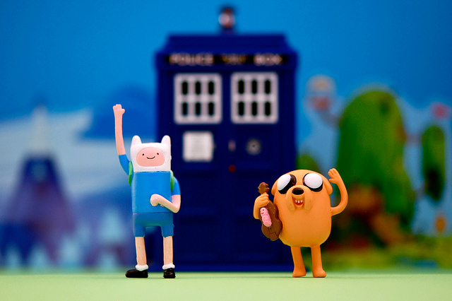 Adventure Time And Relative Dimension In Space