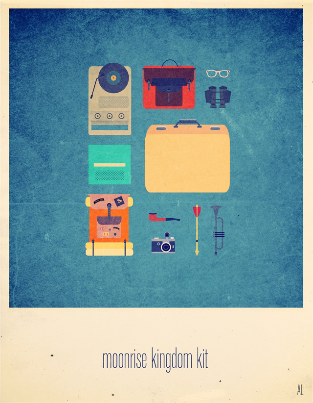 Moonrise Kingdom Hipster Kit