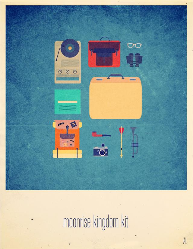 Moonrise Kingdom Hipster Kit