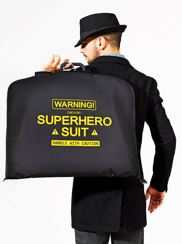 Superhero Suit Carrier For Men