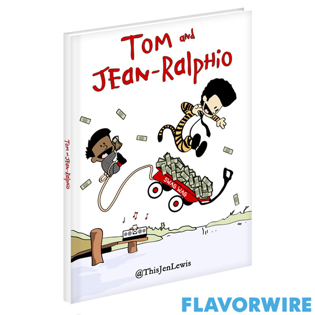 Tom and Jean-Ralphio in Calvin and Hobbes