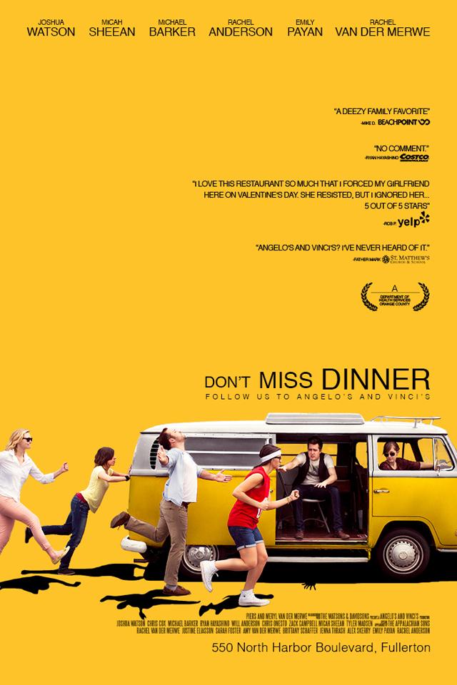 Don't Miss Dinner (Little Miss Sunshine)