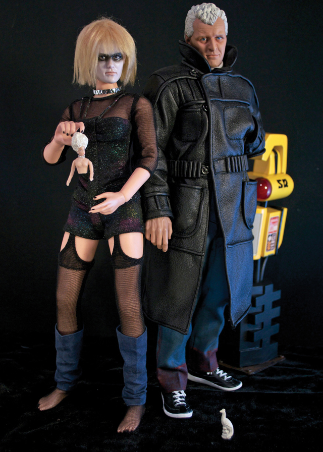 Roy Batty and Pris Action Figures