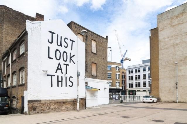 Twisted street art by Ian Stevenson