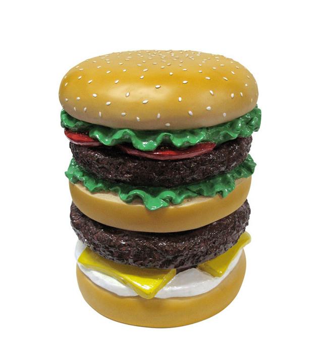Giant Hamburger Stool
