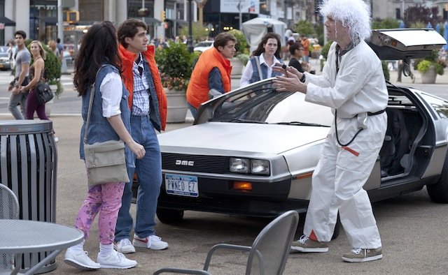 Back to the Future In Real Life