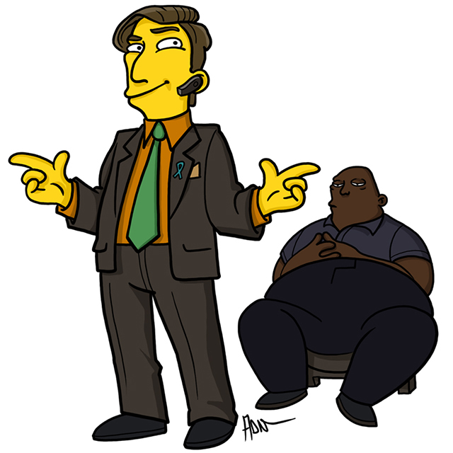 Saul Goodman and Huell Babineaux