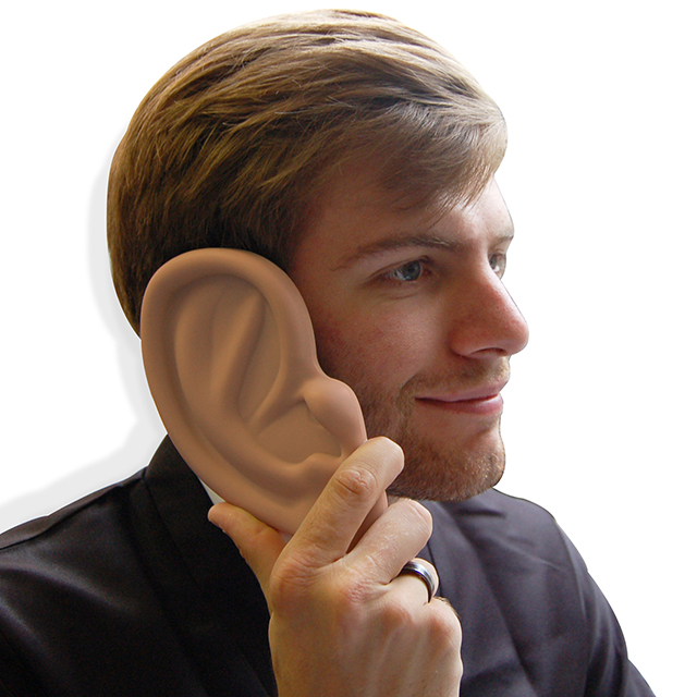 iPhone 4 Case Shaped Like a Giant Ear