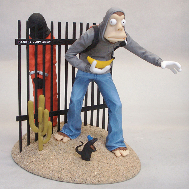 Officially Unauthorized Banksy Action Figure