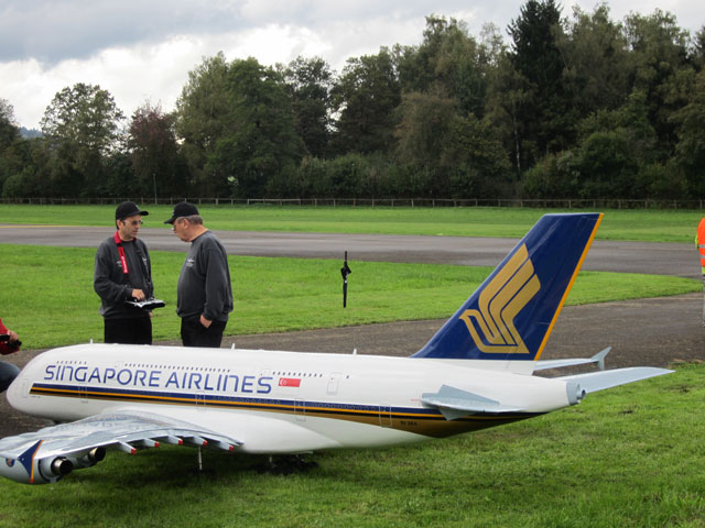 RC Model Airbus A380