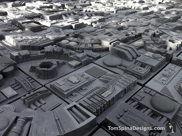 Star Wars Death Star Wall Tiles