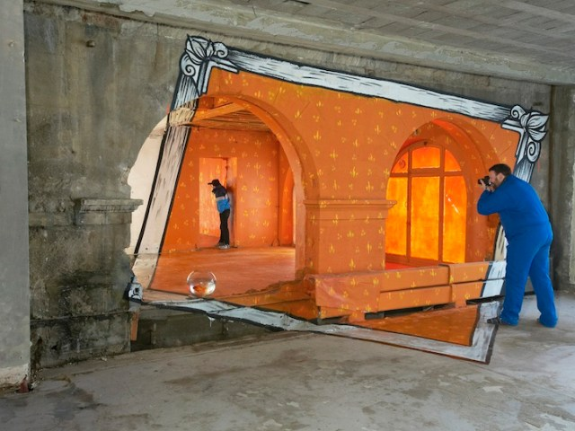 Anamorphoses by Ella and Pitr