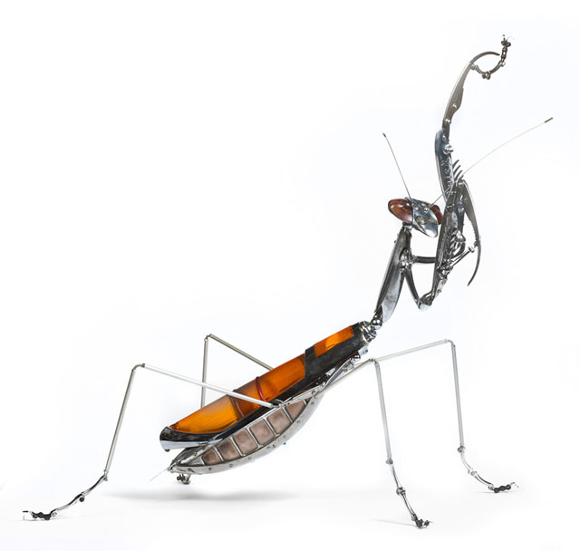 Found Object Animal Sculptures by Edouard Martinet