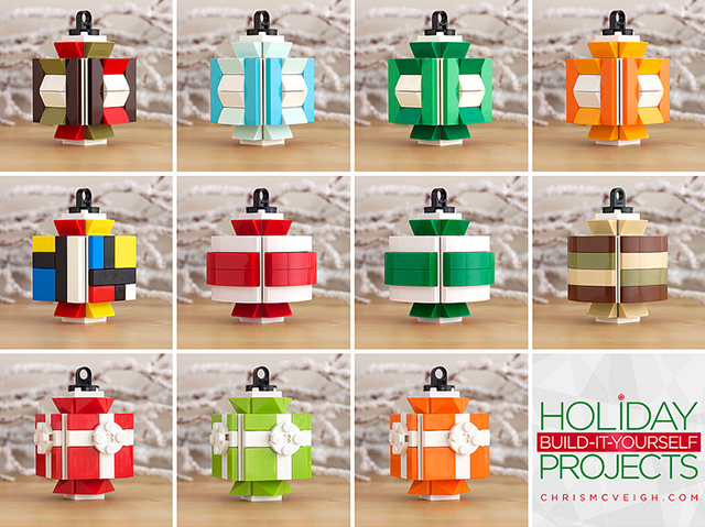 Build it Yourself 2013: All the Lantern Ornaments