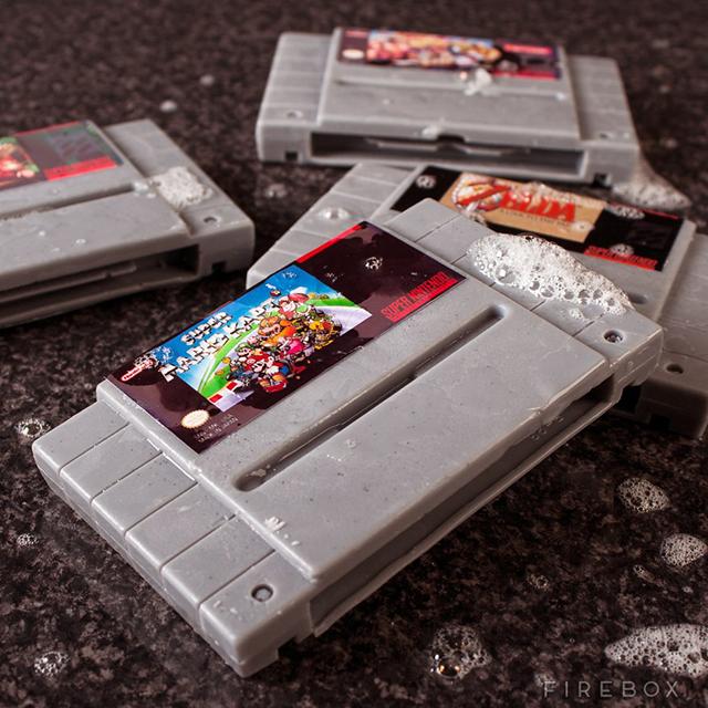 Super Nintendo Video Game Soap Cartridges