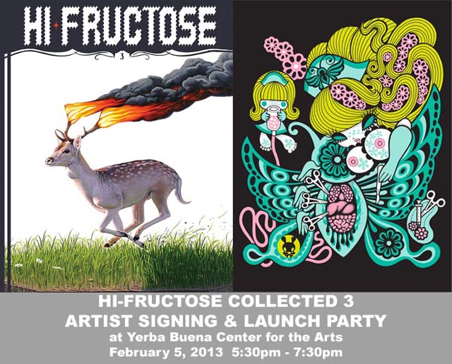 Hi Fructose Signing in San Francisco