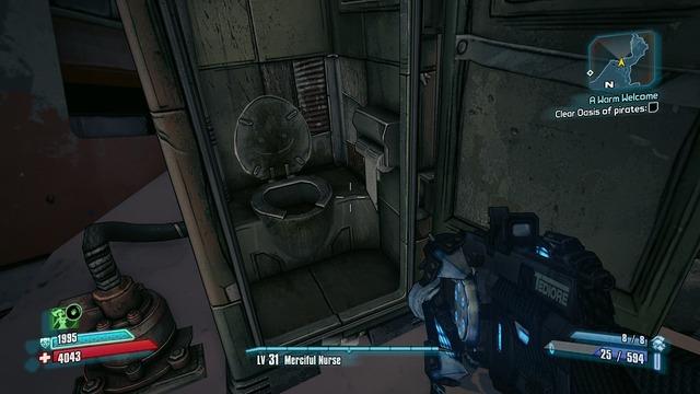 Borderlands 2 Toilet