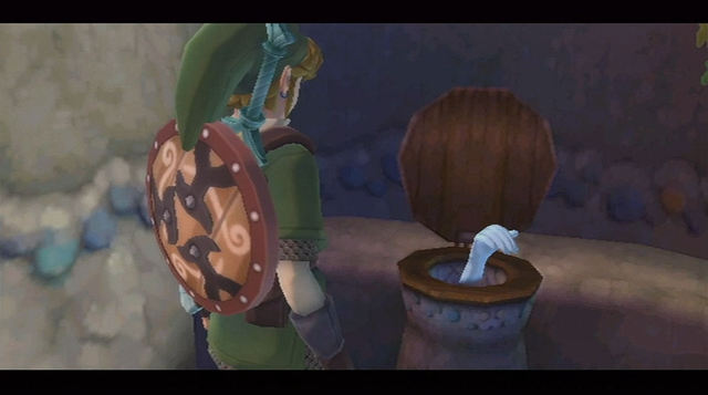 LoZ Skyward Sword Toilet