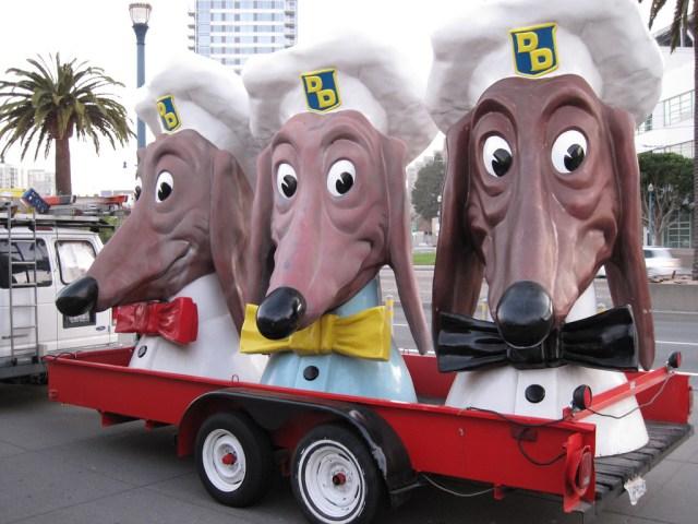 Doggie Diner Heads