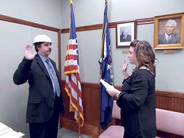 Pastafarian Town Council Member Sworn In While Wearing Colander