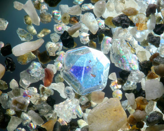 Sand from Japan (magnified 150 times)