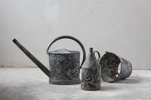 Embroidered Water Cans