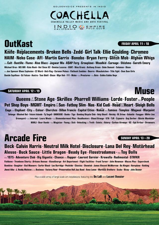 2014 Coachella Valley Music and Arts Festival in Indio, California