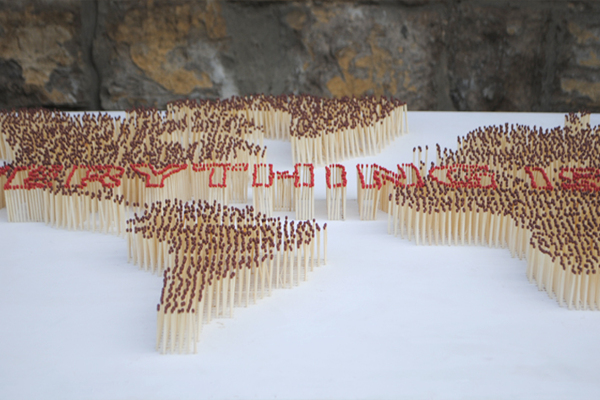 Everything is ending, A Map Made of Matchsticks