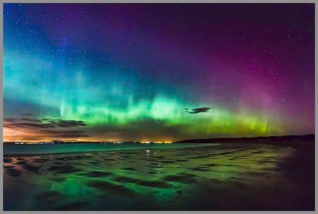 Aurora Gullane Scotland - Ian Foote