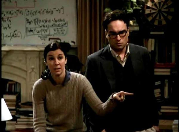 Big Bang Theory Pilot Gilda