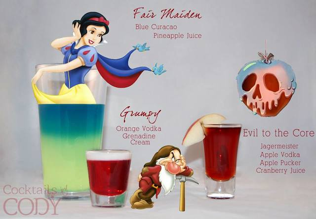Cocktails by Cody - Fair Maiden Grumpy Evil to the Core
