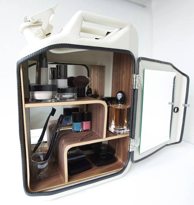 Jerry Can Medicine Cabinet