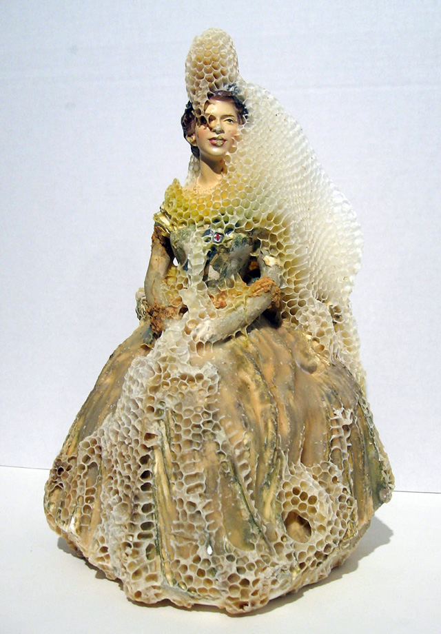 Beeswax Sculptures by Aganetha Dyck