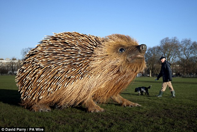 Giant Hedgehog Sculpture