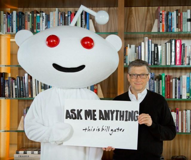 Bill Gates Reddit AMA