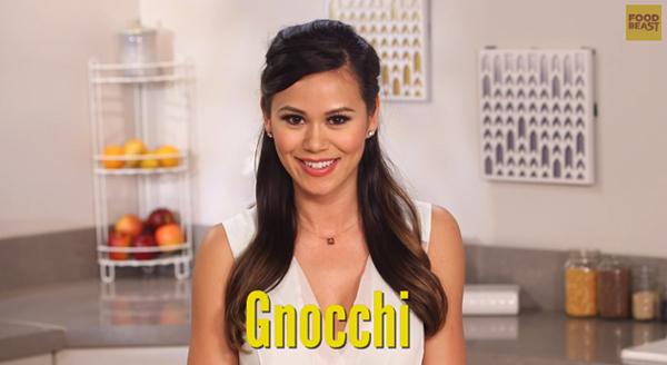 Brandi Correctly Pronouncing Gnocchi