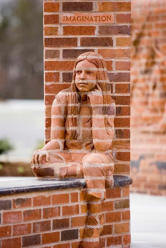 Brick Sculptures by Brad Spencer
