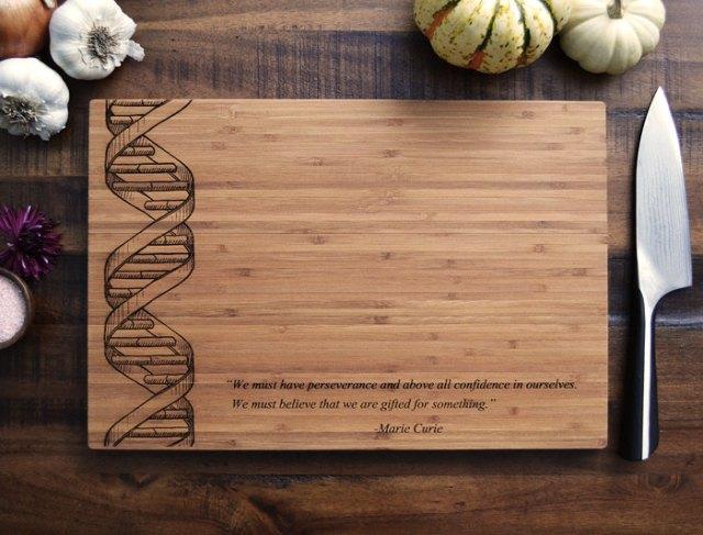 Custom Cutting Board DNA