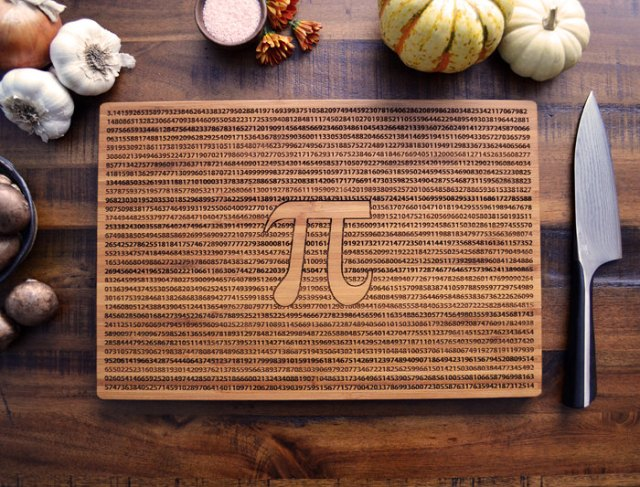 Custom Cutting Board Pi