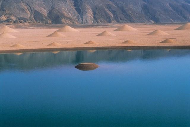 Desert Breath Land Art Installation in Egypt