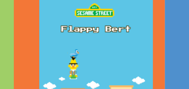 Flappy Bert Video Game