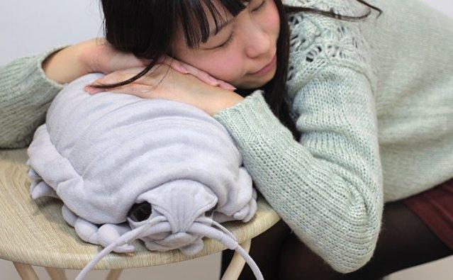 Giant Isopod Plush Sleeping