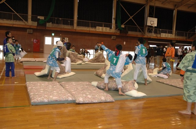 Japanese Pillow Tournament