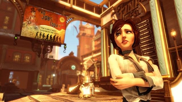 BioShock Infinite No Jobs Today