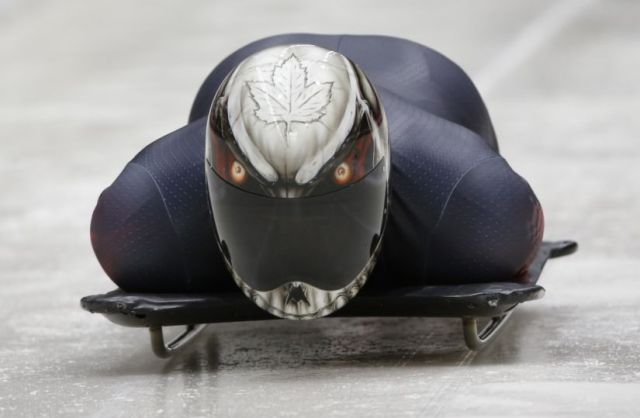 Winter Olympics Skeleton Helmet